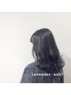 lavender ash