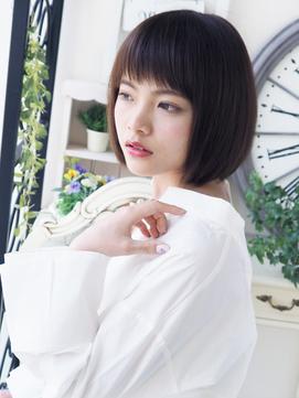 【ヘアジュレドゥ 花井】 モテクール☆小顔ショートボブ
