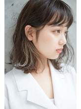 【SHUN】外国人風/インナーカラー/プラチナグレージュ 外国人風.33