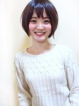 【morio池袋】可愛いエフォートレス黒髪ショートボブ 2017,ショート.56
