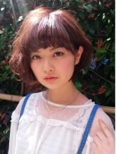 ふんわりパーマボブ☆ピンクアッシュ Neolive mimo  春色.27