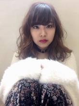 甘めやわらかアッシュベージュ ボサボサ.43