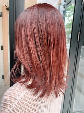 【チェリーピンク】透明感カラー