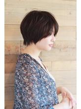 【Lib】クールショートボブ×長め前髪.20