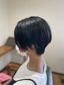 ショート/黒髪ショート/中学生/学生カット/学割