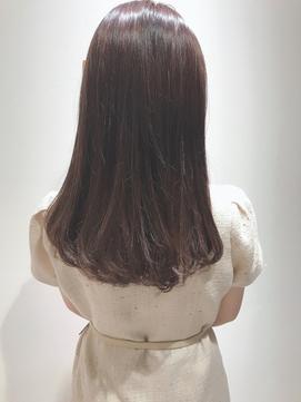 天使の輪★キラキラミルクティーカラー★feuille中村大輔