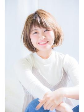 【綱島KREA】ひし形ワンカールボブ♪前髪カット人気NO1♪