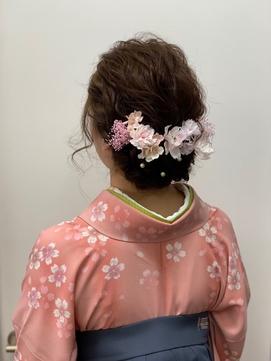 袴の着付け&ヘアセット【高倉麻未】