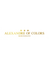 アレクサンドルオブカラーズモリノサト(ALEXANDRE OF COLORS MORINOSATO)