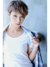 ☆『short』×『high tone』『Ash』☆-『very short』-  VERY.46