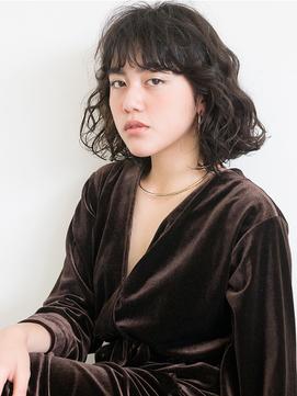 【ACA】形状記憶パーマモテパーマ前髪パーマ