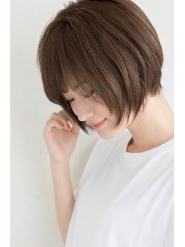 【miles 松本弘大】大人かわいい♪ひし形シルエットショートボブ
