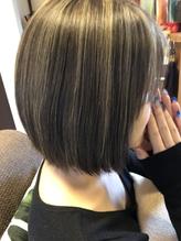 外国人風ダブルカラーメッシュ【国際美容師清水】.24