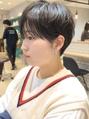 【椎名唯】マッシュショート ダブルバング 黒髪 暗髪 吉祥寺