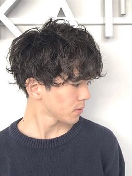 【KAILA】ツーブロックマッシュパーマ ☆高野