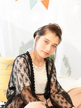 ラグジュアリー編み込みアレンジ【EARTH草津店】
