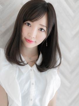 【Ami】有村架純さん風/暗髪/清楚/ナチュラルストレートセミディ