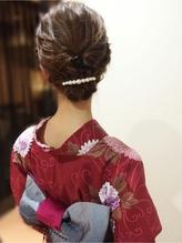 和装・洋装どちらにでもOK☆やんわりアップスタイル .29