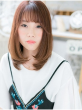 *mod's越谷*外国人風カラー★ツヤかわストレートa.8