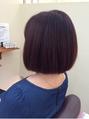 美髪ナチュラルボブ(白髪染め)