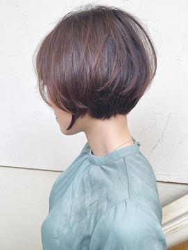 【morio成増】大人かわいい ショートボブ ワンカールパーマ