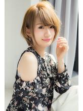 【Euphoria銀座本店】サイドシルエットの美しいボブ☆長谷川  前髪パーマ.58