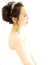 花嫁ゆるいカールアップ <表参道ブライダルヘアメイク LUVU> プリンセス.21