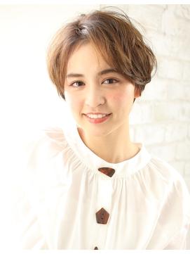 【joemi 新宿】小顔カット 大人ショート ボリュームUP(大島幸司)