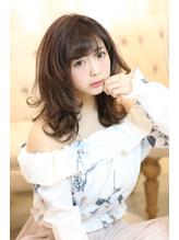 ふわ可愛セミ★[スポンテニアス春のトレンドラベンダーアッシュ] .44