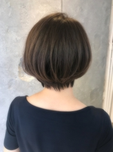 お客様スタイル☆秋の大人ショートボブ.46