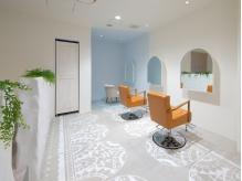 モロッコ風の清潔感あるオシャレ空間 Relaxして過ごすsalon time