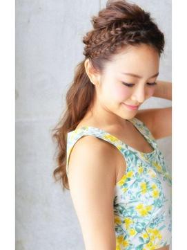 ☆クロンヌアレンジ☆【olive for hair】03-6914-0898