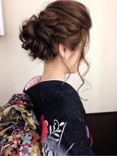 卒業式ヘアセット&袴着付¥10800 卒業式.53