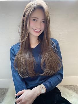 【LiL'西宮】小顔効果_艶髪_髪質改善_かきあげアッシュ