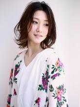 【M.SLASH】抜け感ミディ…大人エフォートレスb くびれカール.11
