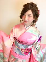全国一位経験アリ☆振袖 袴 成人式 卒業式 ヘアアレンジ ウェディング.40