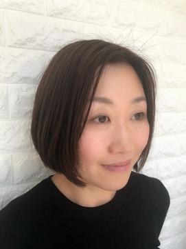 【Niji hair:make】ナチュラルボブスタイル