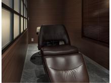 ヘッドスパは専用の個室で至福のひとときを…