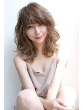 【Laetus/大和西大寺】デジタルパーマ×大人可愛いセミディ♪ グラマラス.48