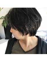 【LIEN by key】Cut、ショートとセンター分け☆.15