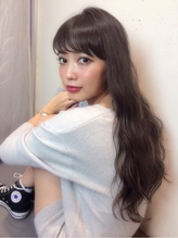 【Real 遠藤眞実】外国人風アッシュグレージュカラー×ロング☆ カントリー.55