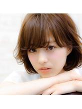 ◇nico◇エアリーショート・ひし形・グレージュ.55