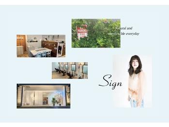 サイン(Sign)(広島県広島市南区/美容室)