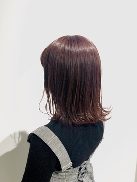 【ADDICT YuuYa】ラベンダーピンク× 外ハネロブ