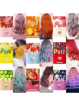 ピュレグミカラー/特殊カラー/デザインカラー/派手髪
