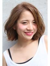 ロエナ ナチュラルひし形シルエット☆くびれミディワイドバング OL.43