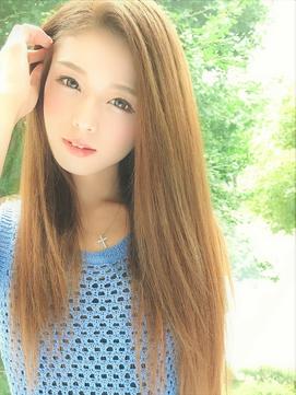 キレイ女子♪王道サラサラストレートヘア