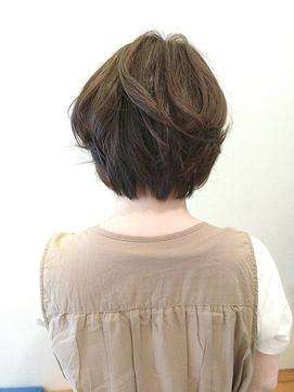 20代30代大人可愛い☆毛先カール×小顔マニッシュボブ