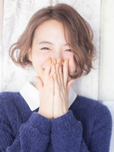 無造作ウェーブが大人カワイイ☆くせ毛風小顔ボブ☆miles吉祥寺 大人カワイイ.47