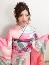 波ウェーブの華やかアレンジ☆ 編み込み.28